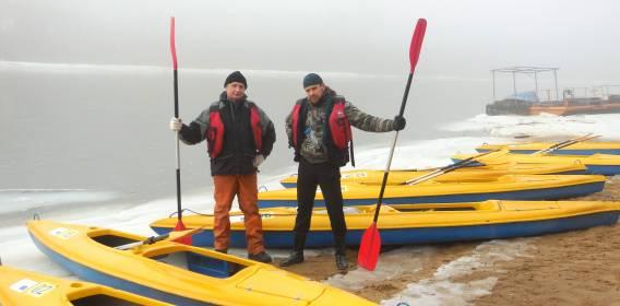 Зимний сплав «Августовские моржи»