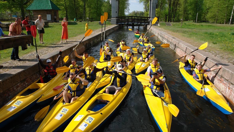 Пятидневный международный водно-велосипедный маршрут (для польских групп)
