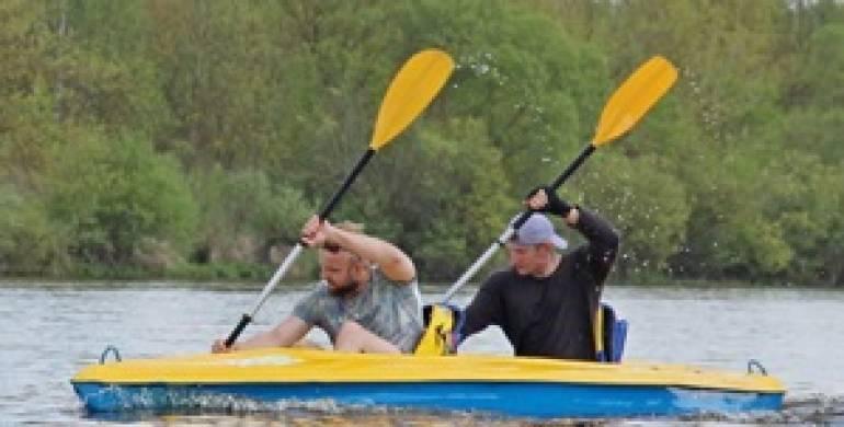 Тур выходного дня возле Гродно: отправляемся по Неману на Августовский канал на байдарках. Фотоотчет.