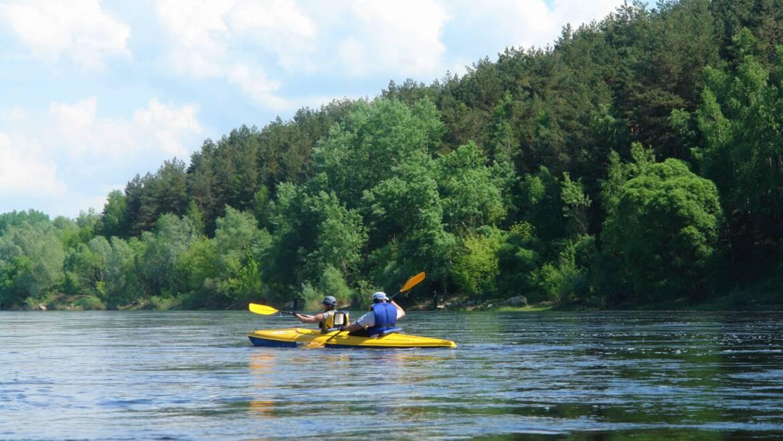 Сплав по реке Неман до санатория «Жемчужина»*